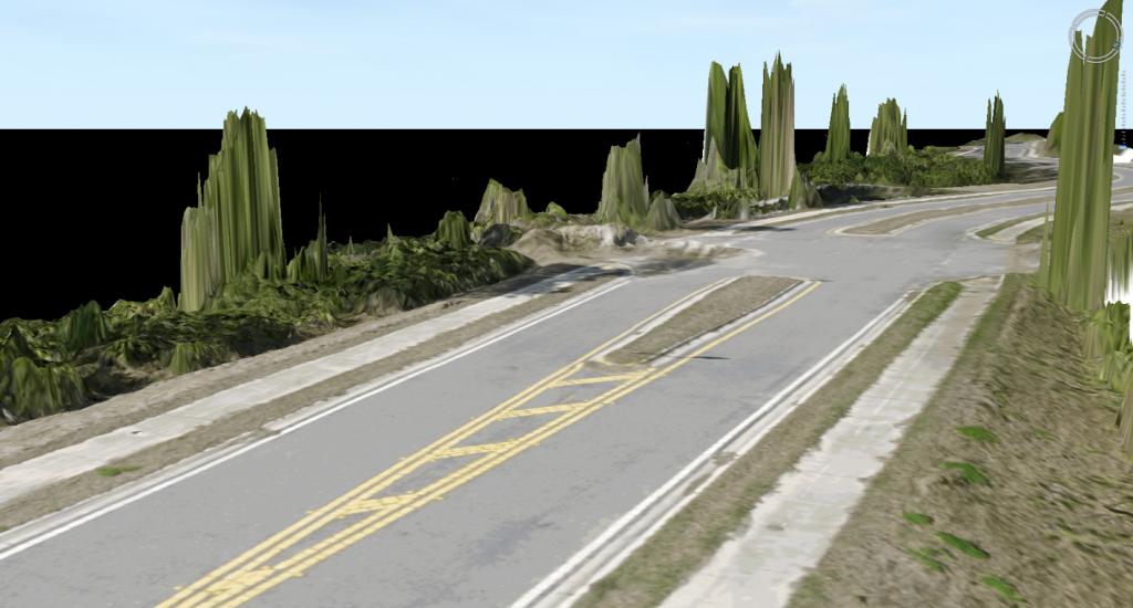 Roadway Oblique