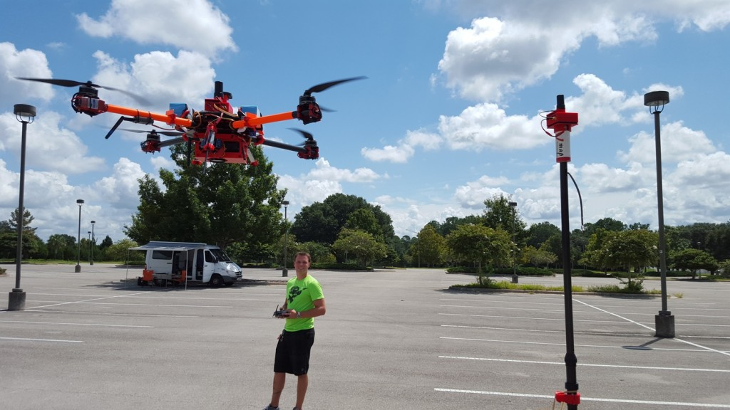 accuracy testing of mapping and surveying drones by drone2gis