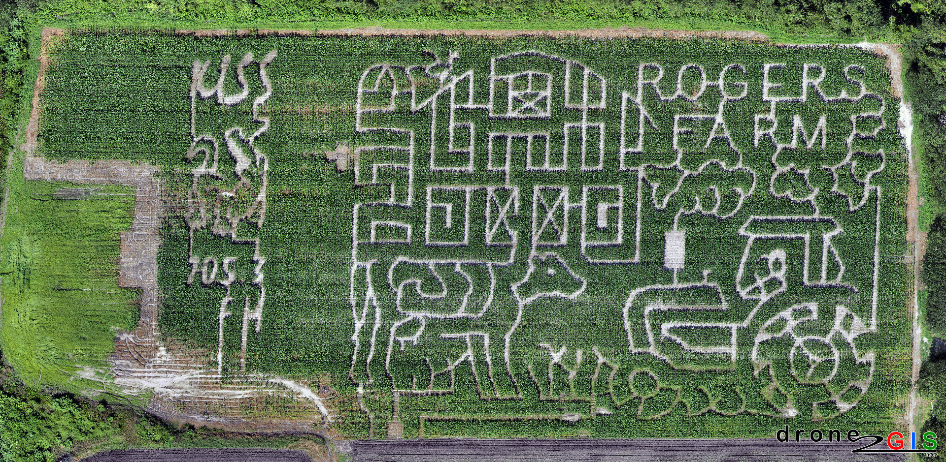 Rogers Farm Corn Maze 2015